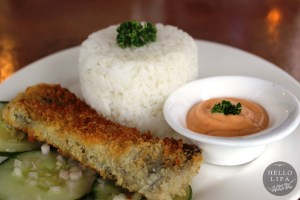 Crispy Bangus Belly with Sriracha Sauce