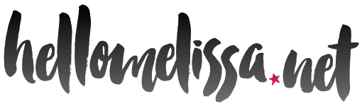 hellomelissa.net logo - May 2015