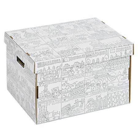 stabile box für kinder zum anmalen von nurie aus japan, 23,90 €