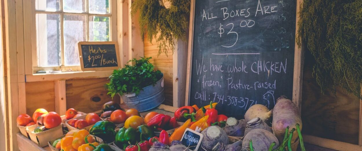 In a New World, can we go to the Farmers' Market on Wednesday Morning?