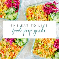 Eat to Live Food Prep Guide