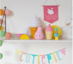 ideas decorativas para una habitación infantil