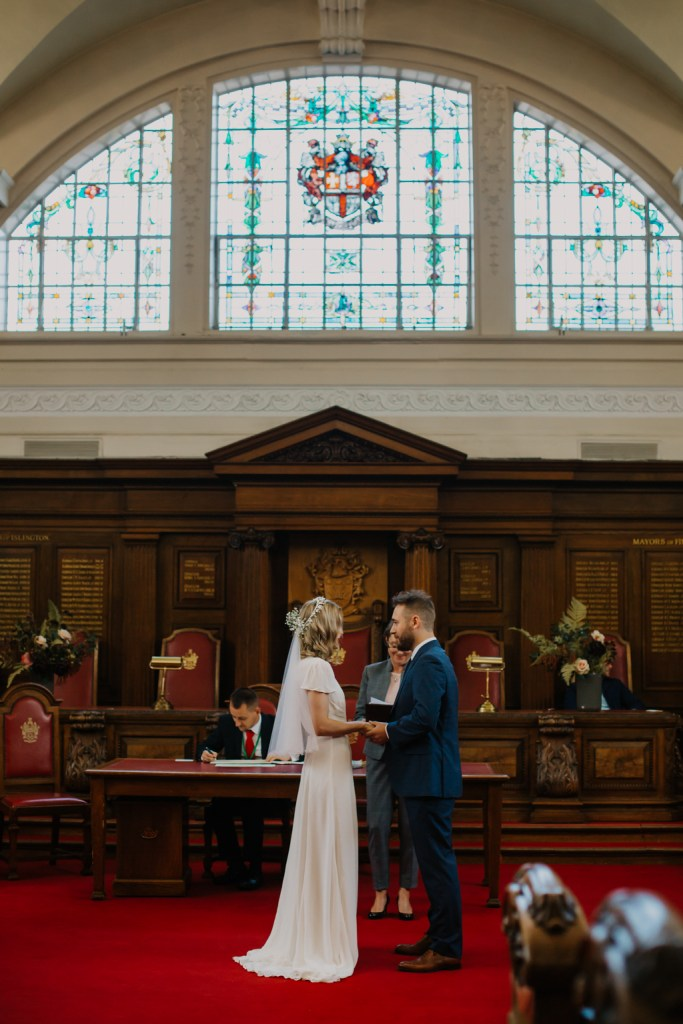 Wedding at Islington Town Hall London