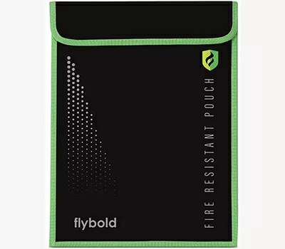 Fireproof Document Bag Pouch By FLYBOLD