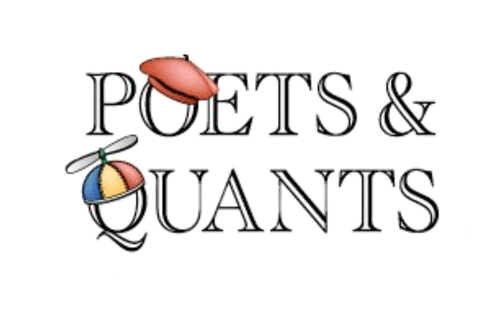 Poets & Quants logo with link