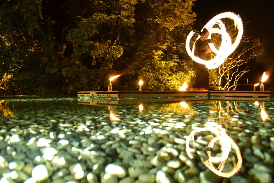 Fire Show Baba Poolclub | Sri Panwa Resort | Hello Raya Blog