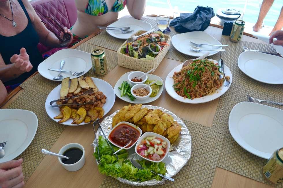 Thai Food Sailing Phuket | Sailing Holidays | Hello Raya Blog