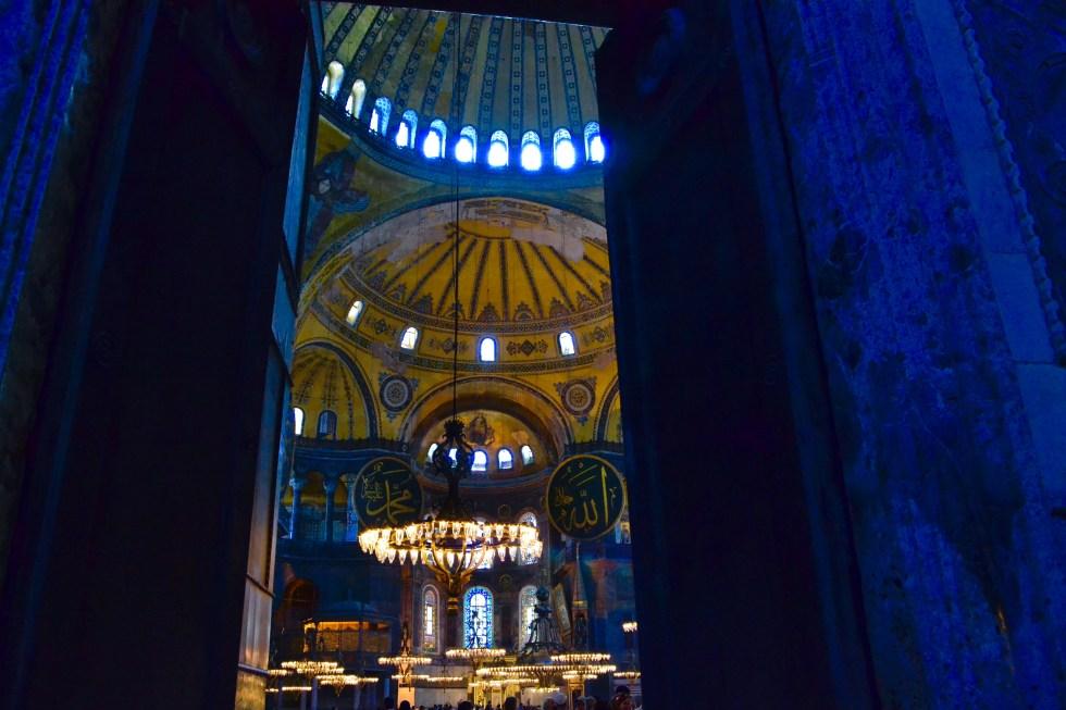Interior Entrance | Hagia Sophia | Hello Raya Blog