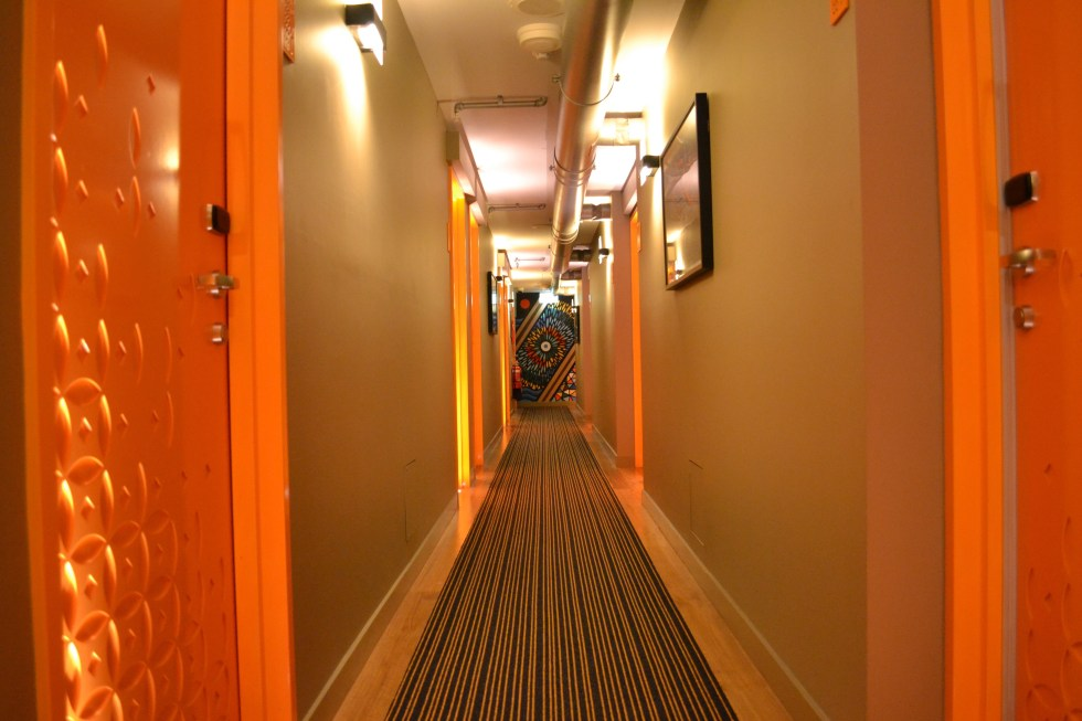 Hotel Corridor | TRYP Fortitude Valley, Brisbane Hotel | Hello Raya Blog