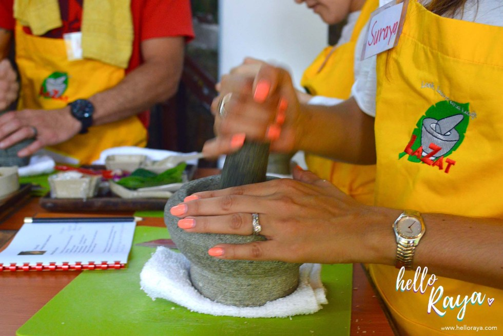 A Malaysian Cooking Class in KL | Lazat Cooking Class | Mortar & Pestle | Hello Raya Blog