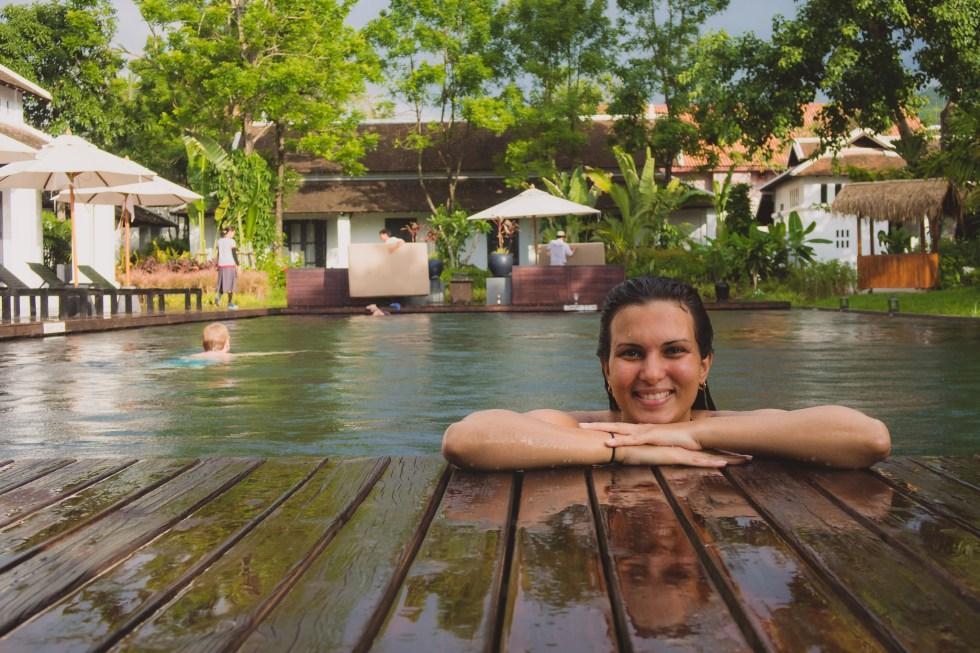 At the Pool | Sofitel Luang Prabang (Laos) | Hello Raya Blog