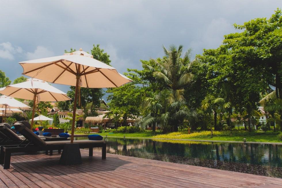 The Pool Area at Sofitel Luang Prabang | Hello Raya Blog