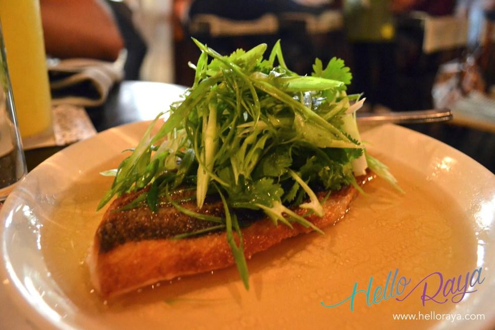 Pan Fried Snapper   Dining in LA at E.P. & L.P.   Hello Raya Blog