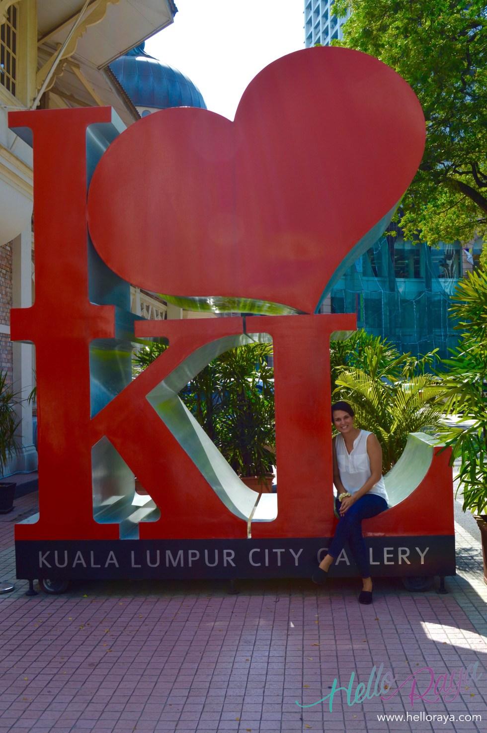 I Heart KL | Free Things to do in Kuala Lumpur | Hello Raya Blog