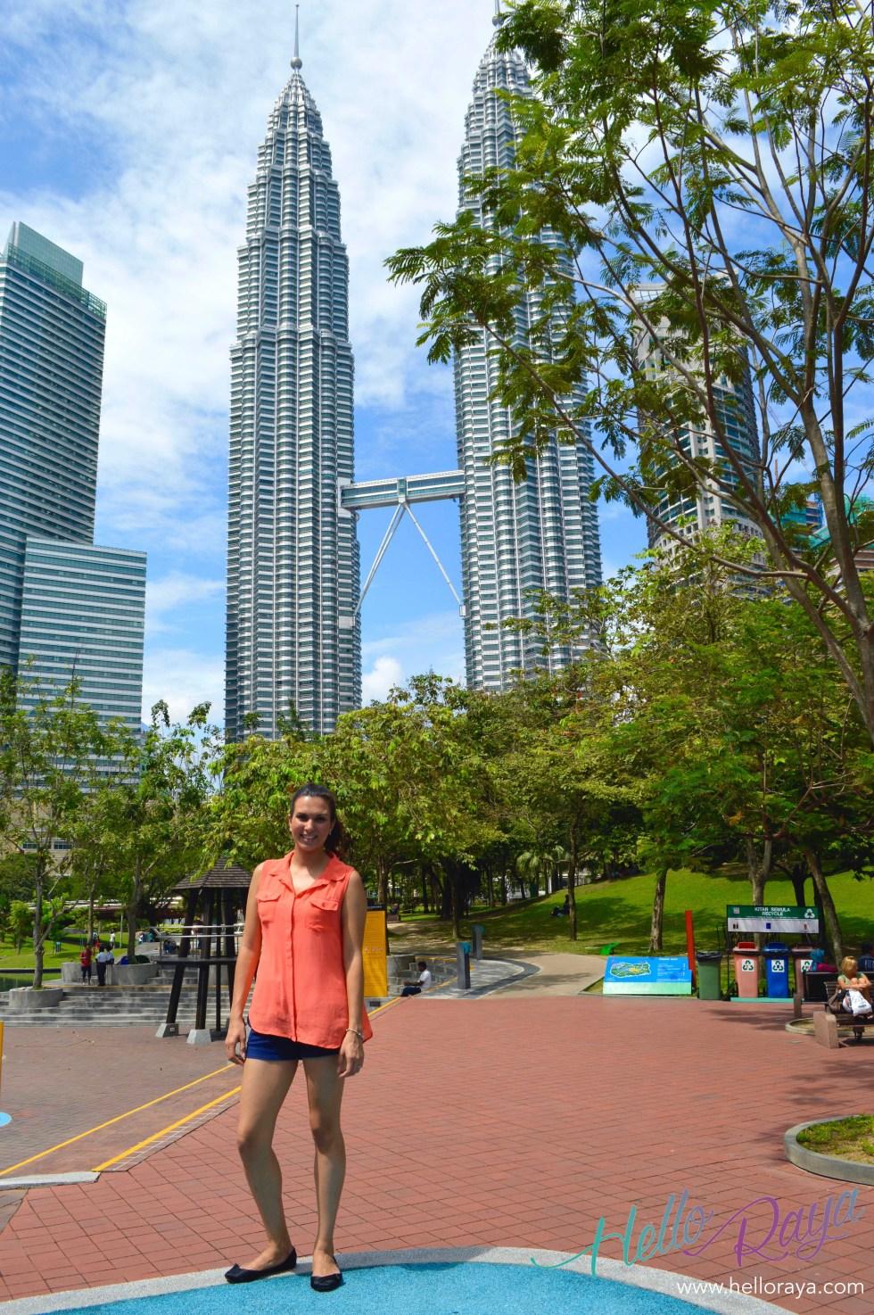 KL Twin Towers, KLCC | Free Things to do in Kuala Lumpur | Hello Raya Blog
