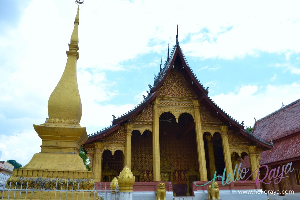 Wat Sensoukharam Temple | 13 Things to do in Luang Prabang | Hello Raya Blog