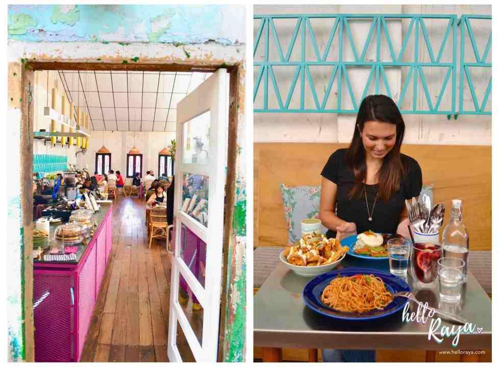 Instagrammable Cafe in Kuala Lumpur Malaysia - Merchant's Lane - Hello Raya Blog