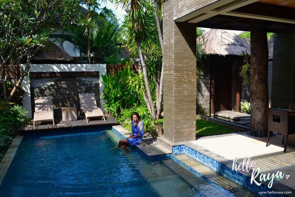 Le Jardin Villas in Seminyak, Bali | The Pool Area | Hello Raya Blog