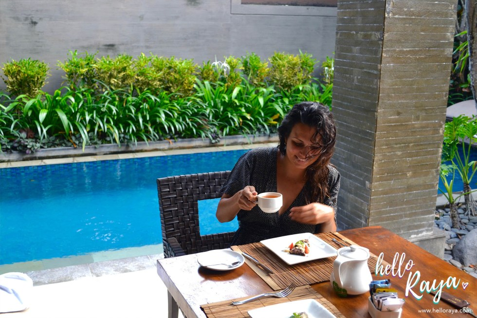 Le Jardin Villas in Seminyak, Bali | Afternoon Tea | Hello Raya Blog