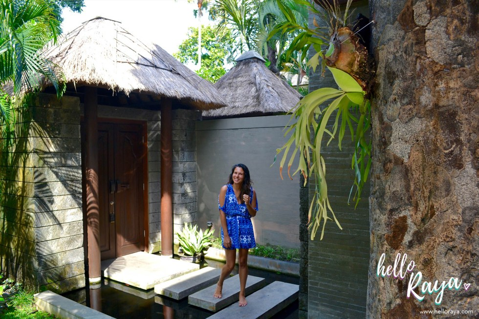 Le Jardin Villas in Seminyak, Bali | Entrance area of the villa | Hello Raya Blog
