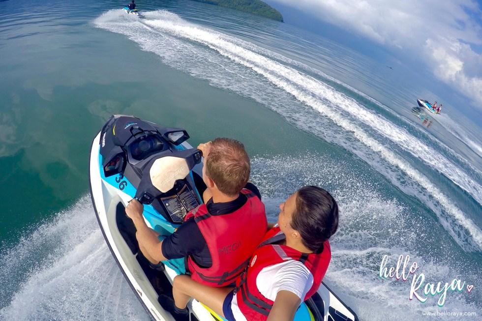 Island Hopping in Langkawi on a Jet Ski Tour - Hello Raya Blog