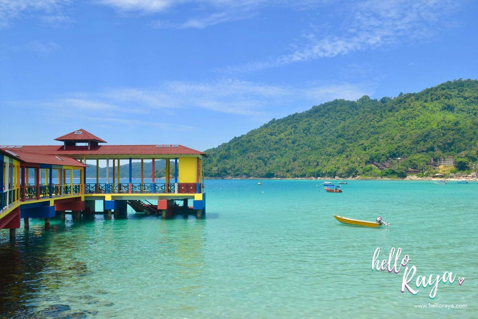 Travel Guide to Visiting the Perhentian Islands - Perhentian Kecil - Long Beach Jetty - Hello Raya Blog