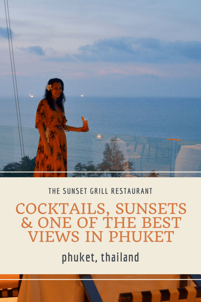 Sunset Grill Restaurant in Phuket at the Hyatt Regency Phuket | Hello Raya Blog