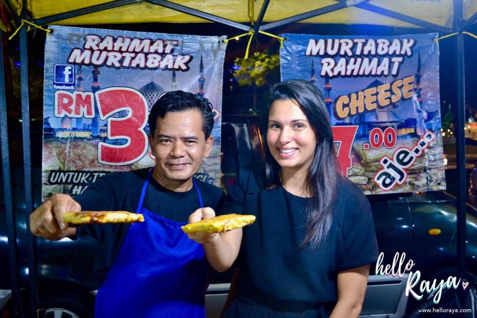 Food Tour Kuala Lumpur | Murtabak | Hello Raya Blog