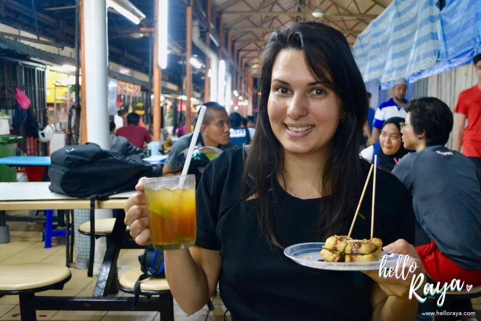 Food Tour Kuala Lumpur   Tauhu Bakar   Hello Raya Blog