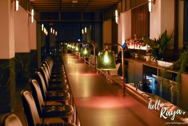 Pacific Standard Bar in KL at Alila Bangsar | Hello Raya Blog