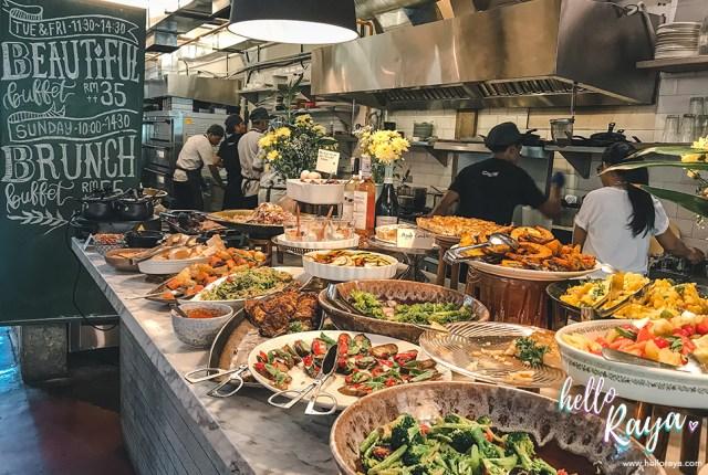 Lisette's Cafe Bangsar Brunch Kuala Lumpur | Hello Raya Blog