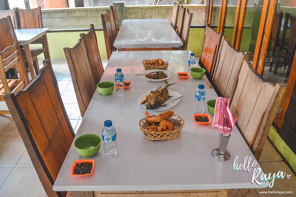Places to Eat in Pulau Weh | Babah Alue Restaurant | Hello Raya Blog
