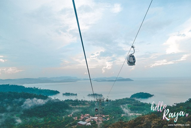 Unique Things to do in Langkawi - Cable Car | Hello Raya Blog