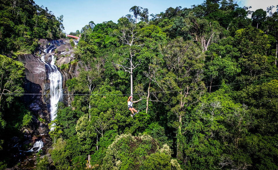 Unique Things to do in Langkawi - Zipline   Hello Raya Blog