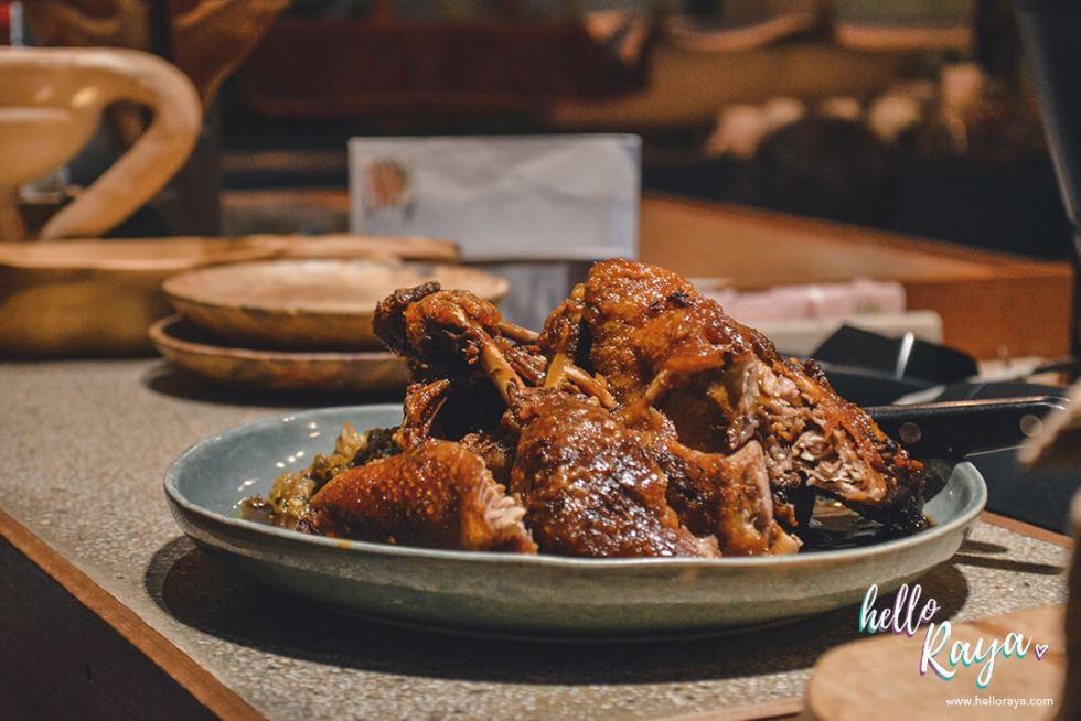Chocha Foodstore Kuala Lumpur | Sticky Bebek Goreng | Hello Raya Blog