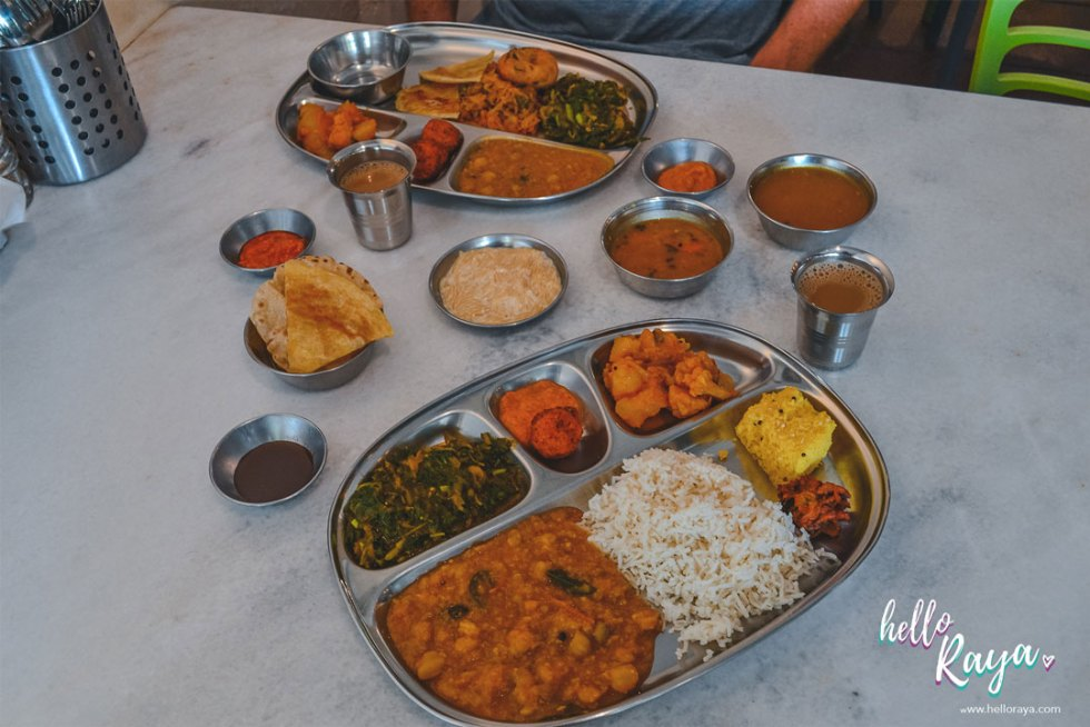 Ganga Vegetarian Restaurant in KL | Hello Raya Blog
