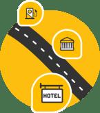 icono ruta viajes en moto por España