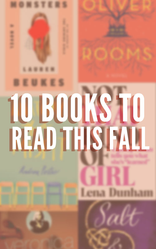10 Books to Read this Fall