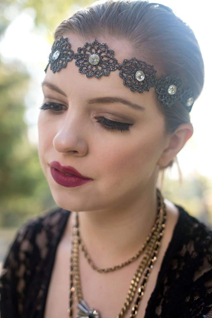 Flapper Girl Makeup Look | The World Of Make Up