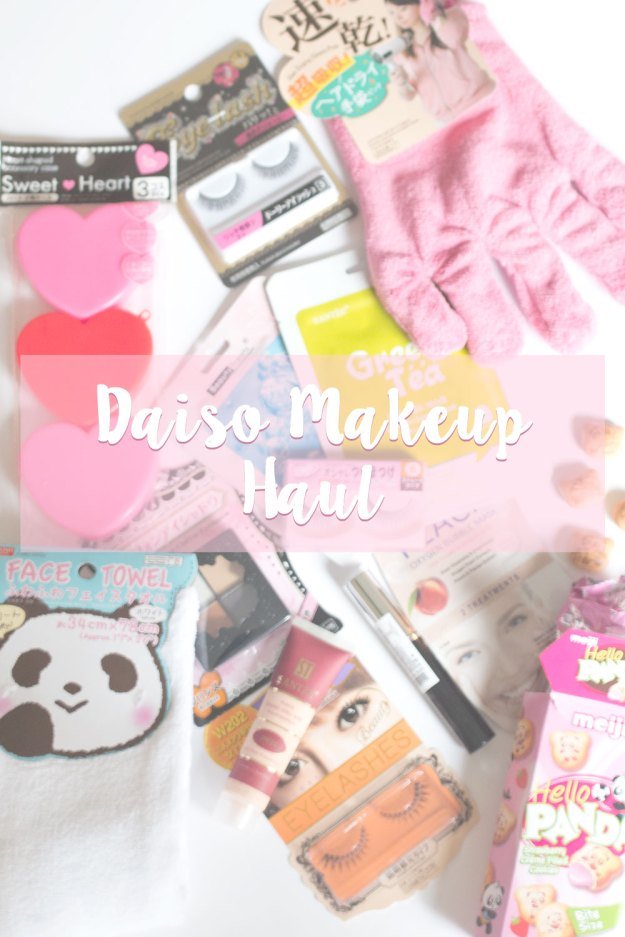 Makeup Bloggers On Youtube: Daiso Makeup Haul & Mini Reviews // Seattle Beauty Blog
