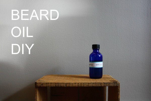 Beard Oil DIY