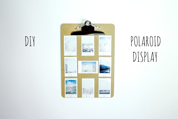 polaroid diy