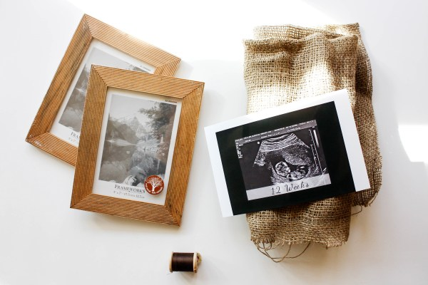 DIY Sonogram Frame - 1