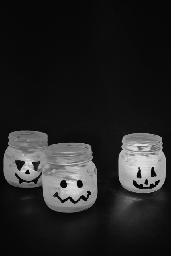 Halloween Candy and Candle Holder DIY - 10