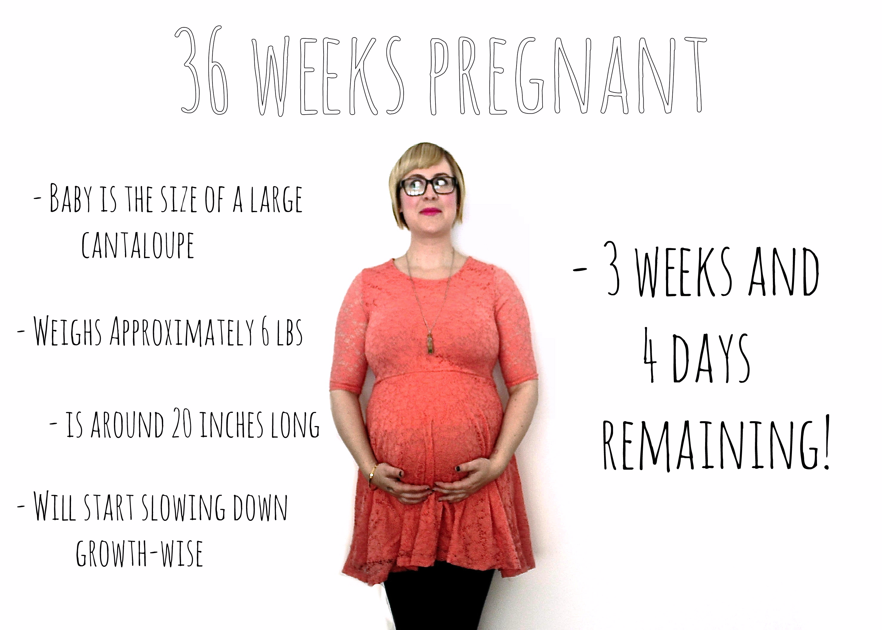 The 36th week of pregnancy