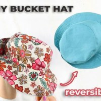 1 Hour Bucket Hat - Free Sewing Pattern