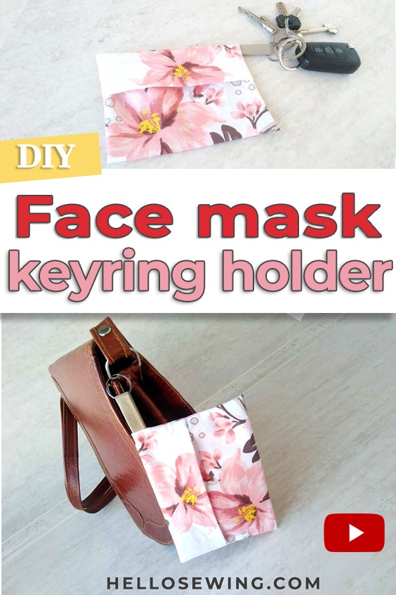 DIY Face Mask Pouch - Sewing tutorial