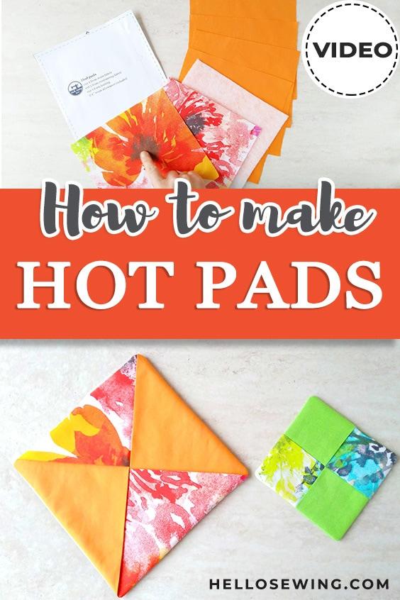 DIY Hot Pads - Easy Sewing Tutorial
