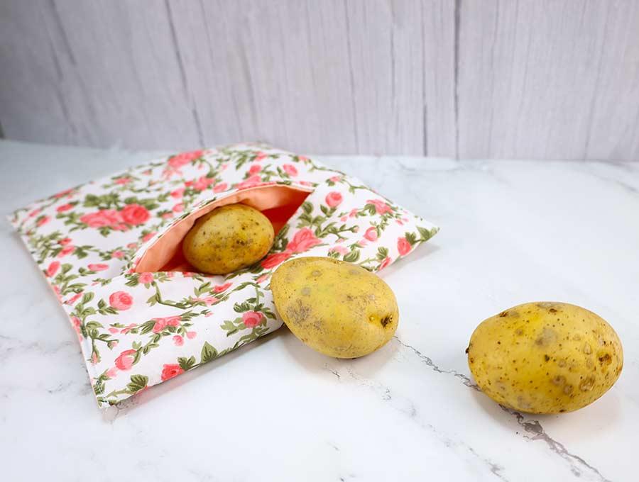 easy microwave potato bag instructions