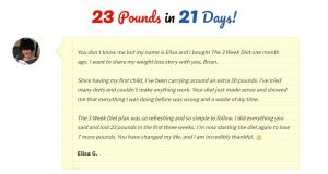 How I lost 23 pounds in 21 days